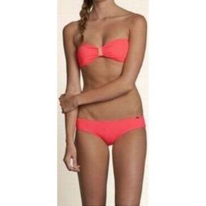 Hollister Strappy Bow Bikini Set